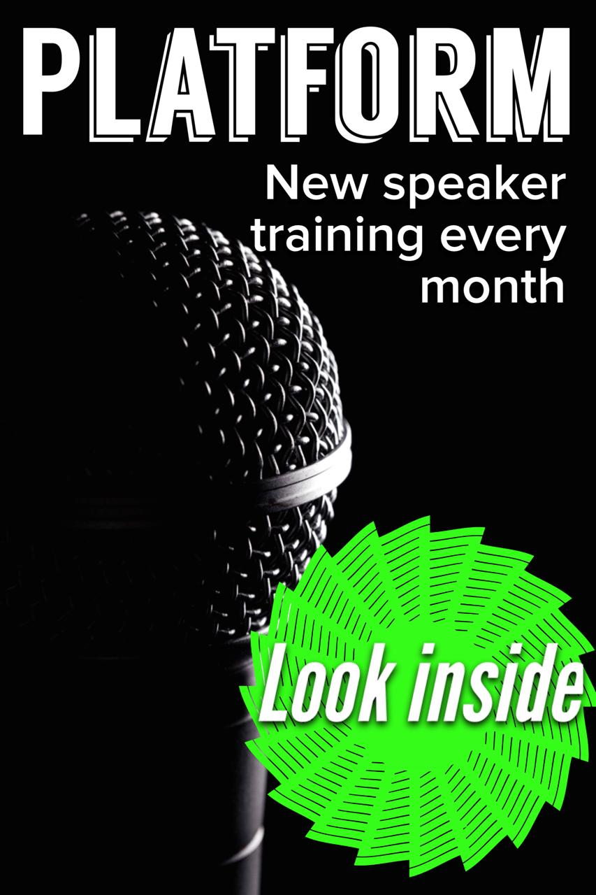 Speaking Lifestyle Platform For Public Speaking