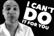 speaker training - I can't do it for you