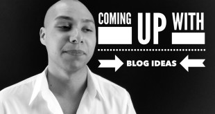speaker training - coming up with blog ideas