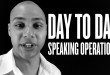 speaker training - how to spend your days