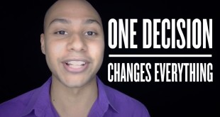 public speaking one decision changes everything
