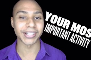 speaker training your most important activity