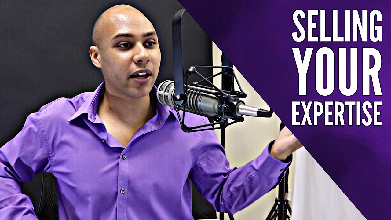 Selling your expertise for a lot of money