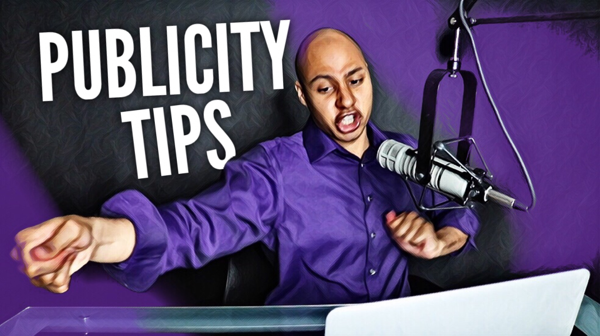 Publicity Tips for when you get on TV