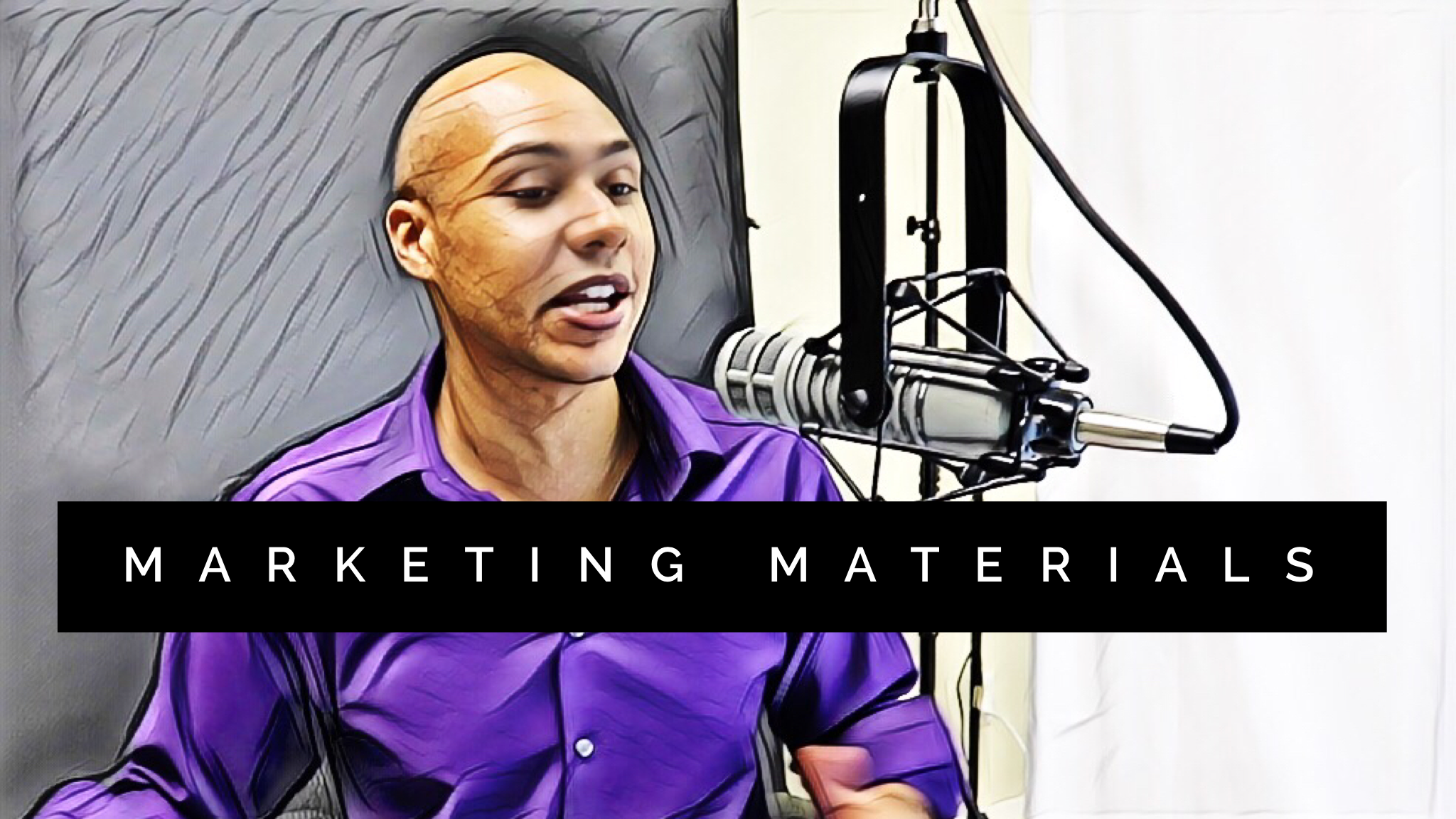 What marketing materials do you need for your speaking business?