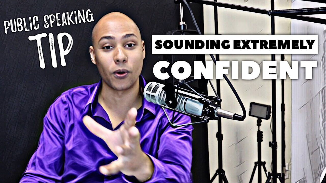 How to sound confident when delivering a presentation – Public Speaking Tip
