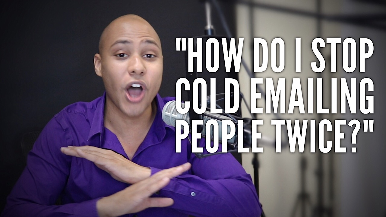 How do you stop yourself from contacting people twice?