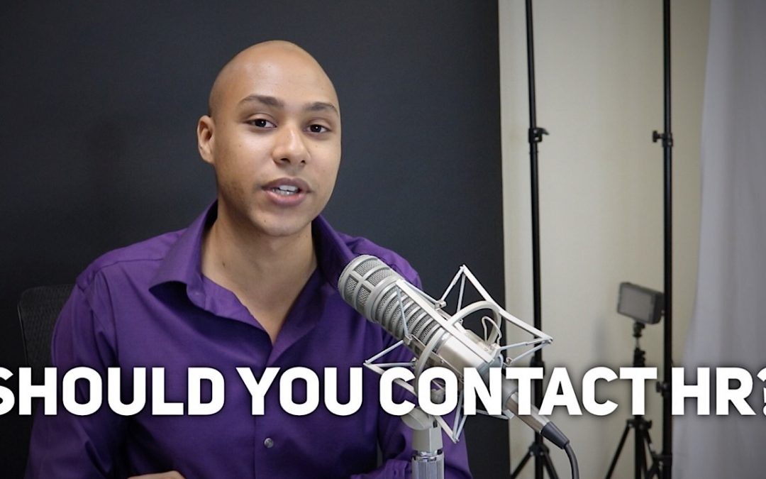 Should you contact HR for speaking engagements?