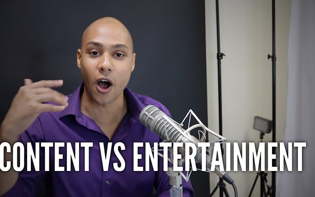 With content marketing, should it be more content or entertainment?