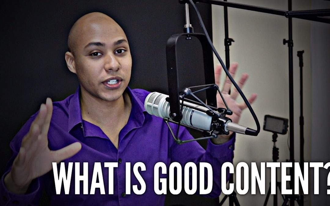 What is considered GOOD content?