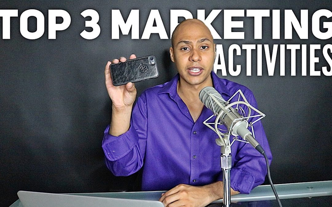 What are the top 3 marketing tactics for generating cash flow and growth?