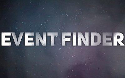 Update to Event Finder