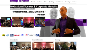 motivational speaker benji bruce