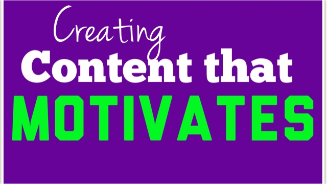 Creating Presentations That Motivate