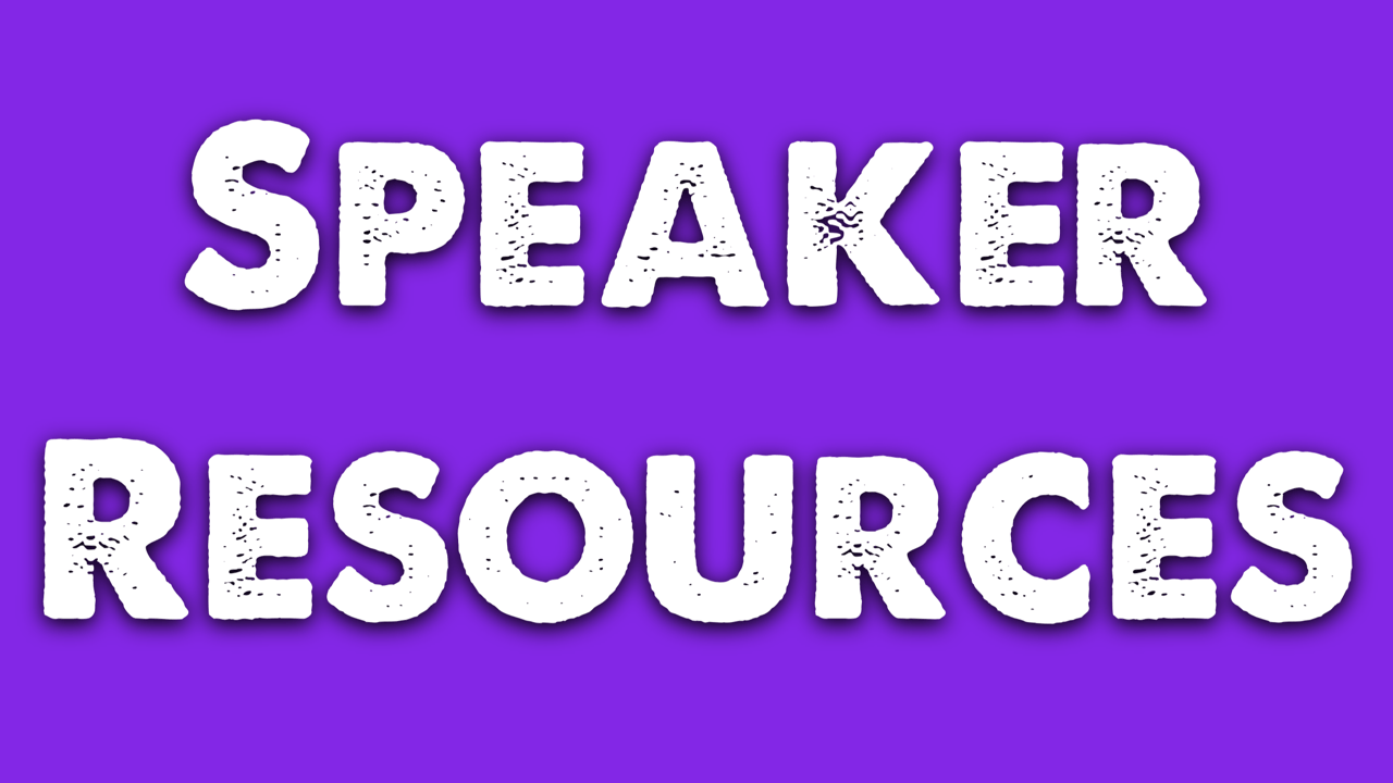 Speaking Resources