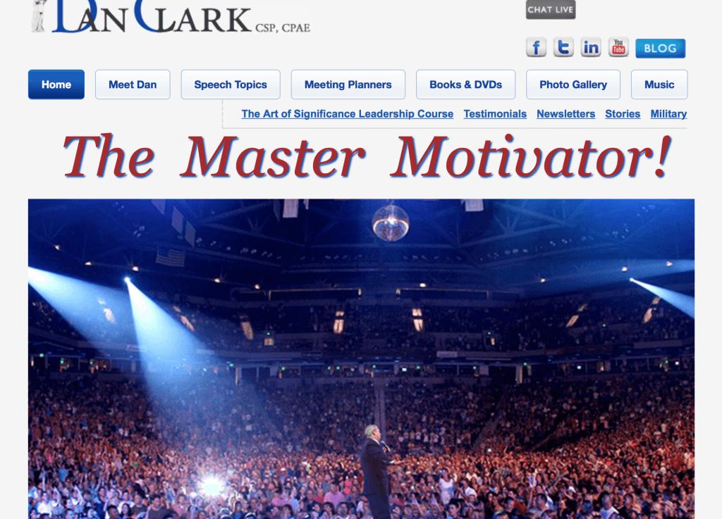Dan clark website