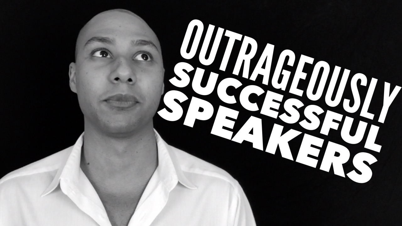 How to be outrageously successful in the speaking industry (so you get more paid gigs)