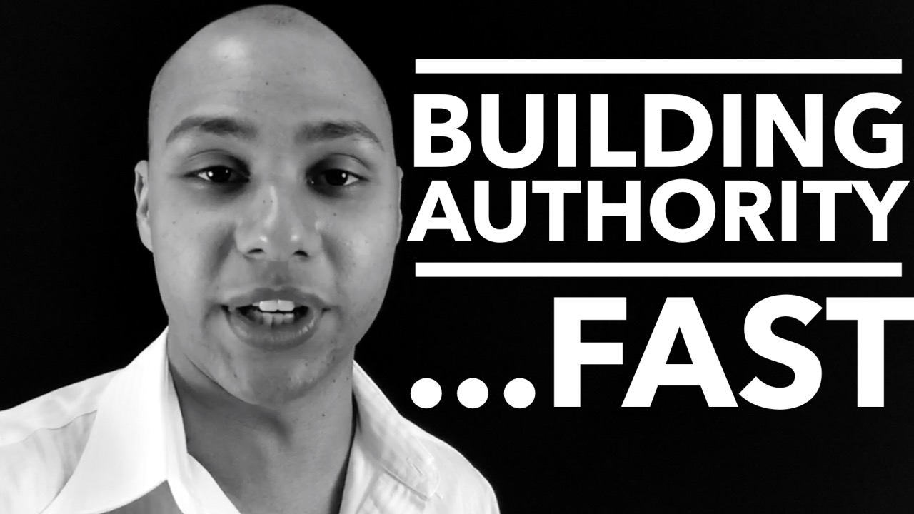 Building authority really fast for your speaking business