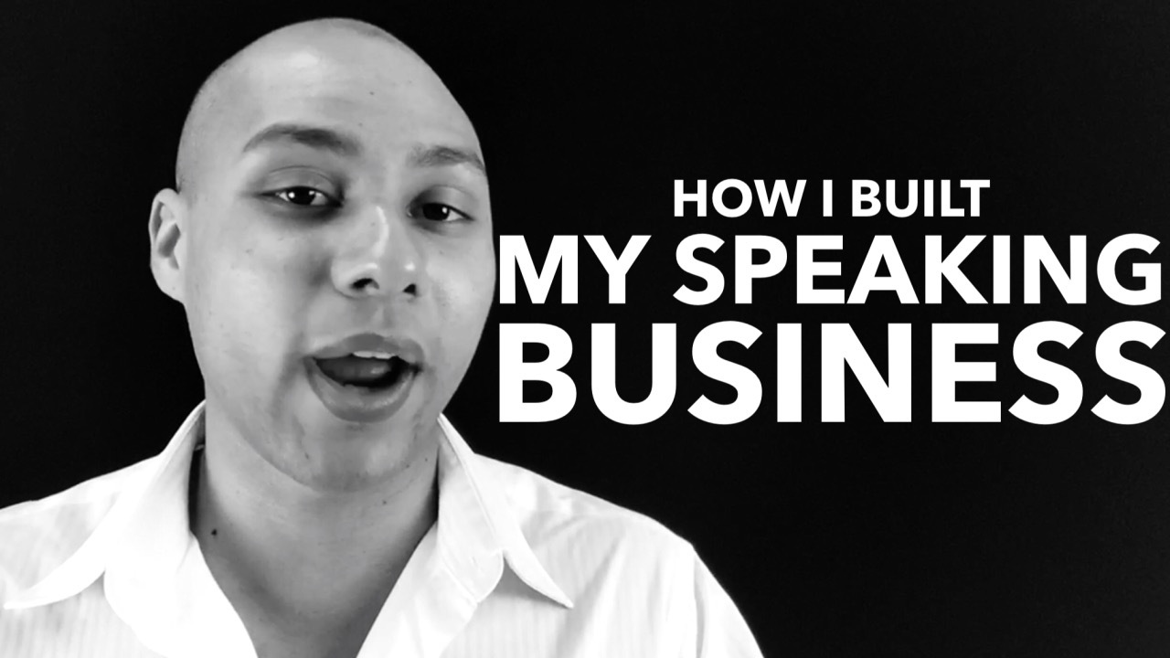 This ONE thing contributed to my speaking success