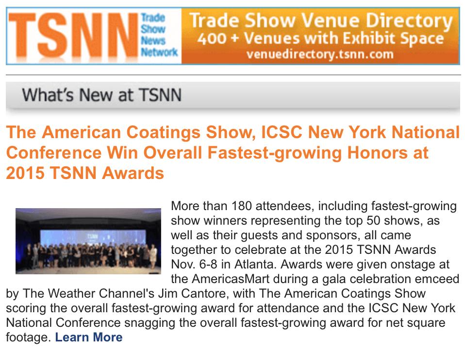 tsnn trade shows