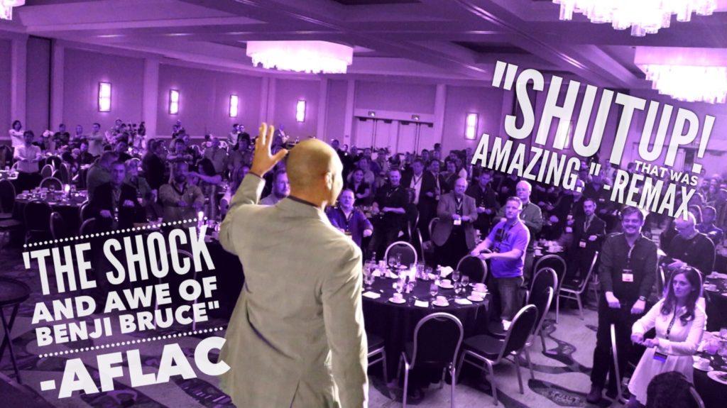 Benji Bruce motivational speaker header pic