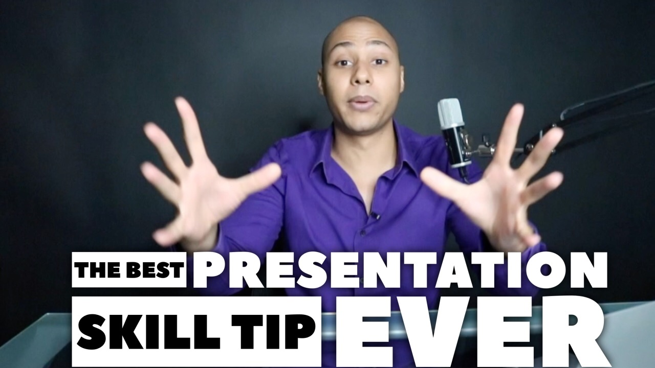 The Best Public Speaking Tip EVER!