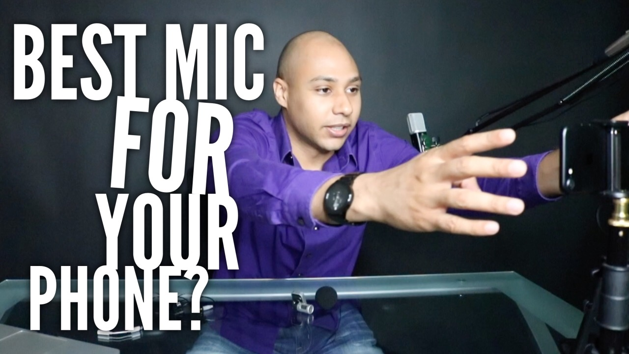 What's the best microphone to use when filming with your smartphone?