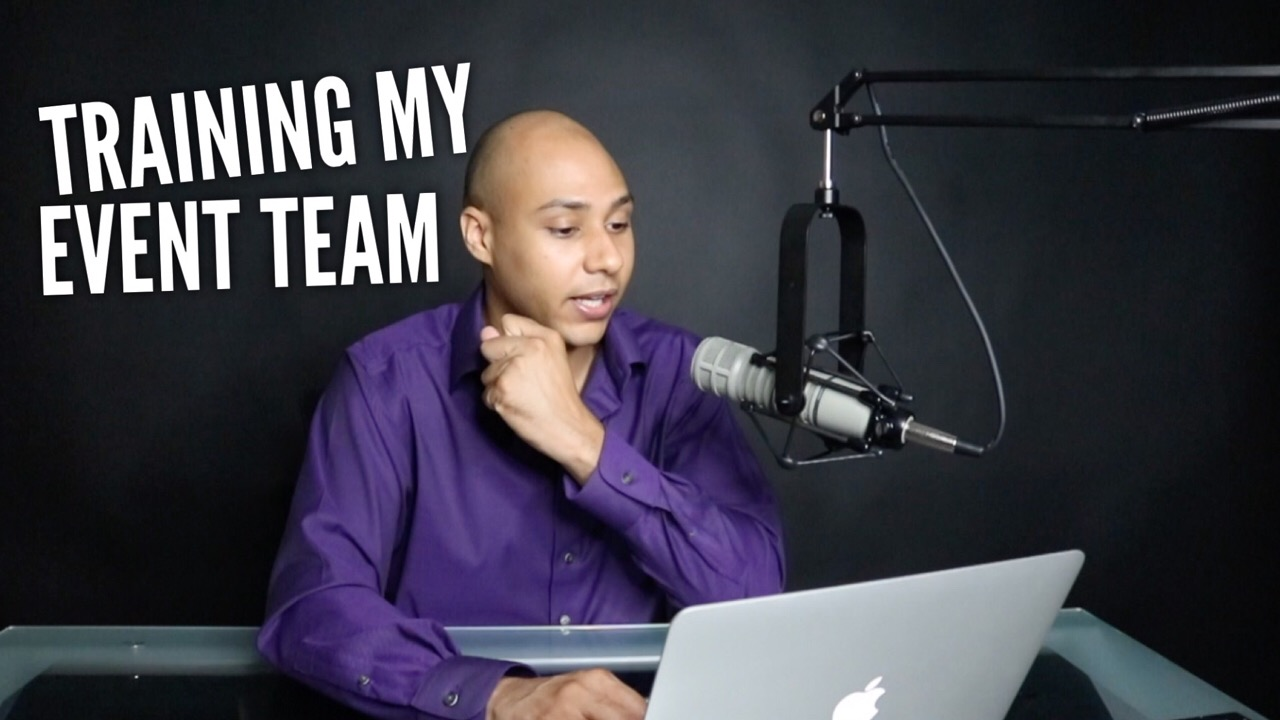 How I train my event team to get speaking engagements
