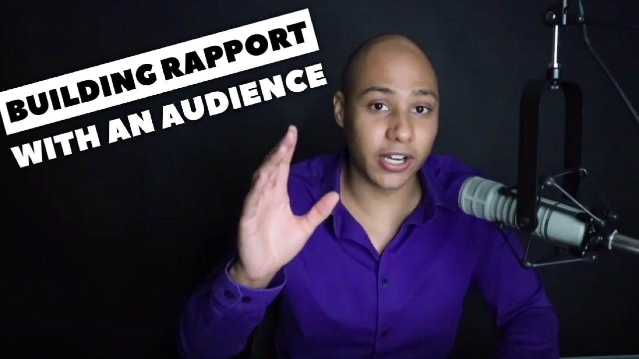 The trick to building rapport with your audience – the best speakers in the world do this