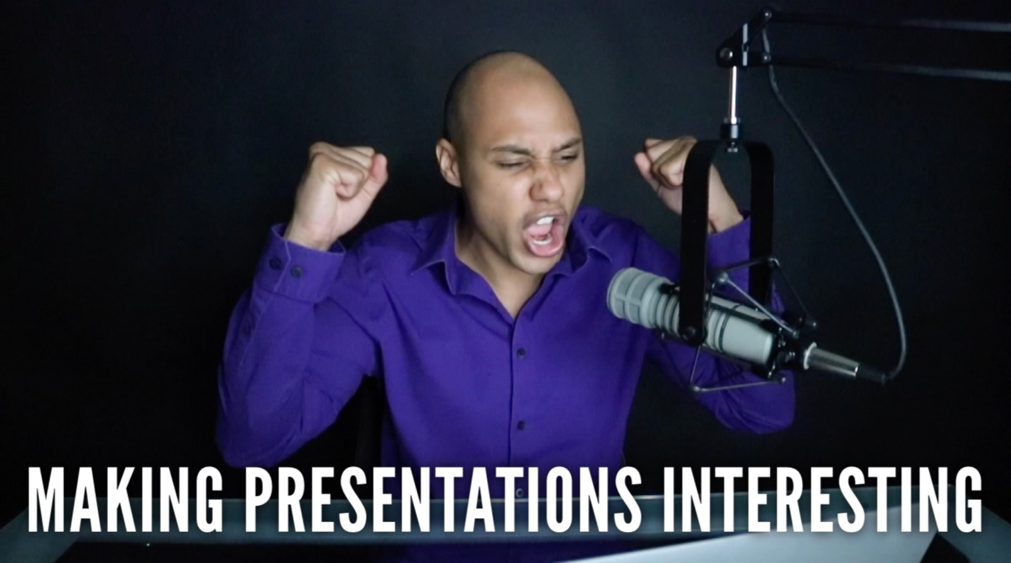 Public speaking tip – Making Presentations Interesting