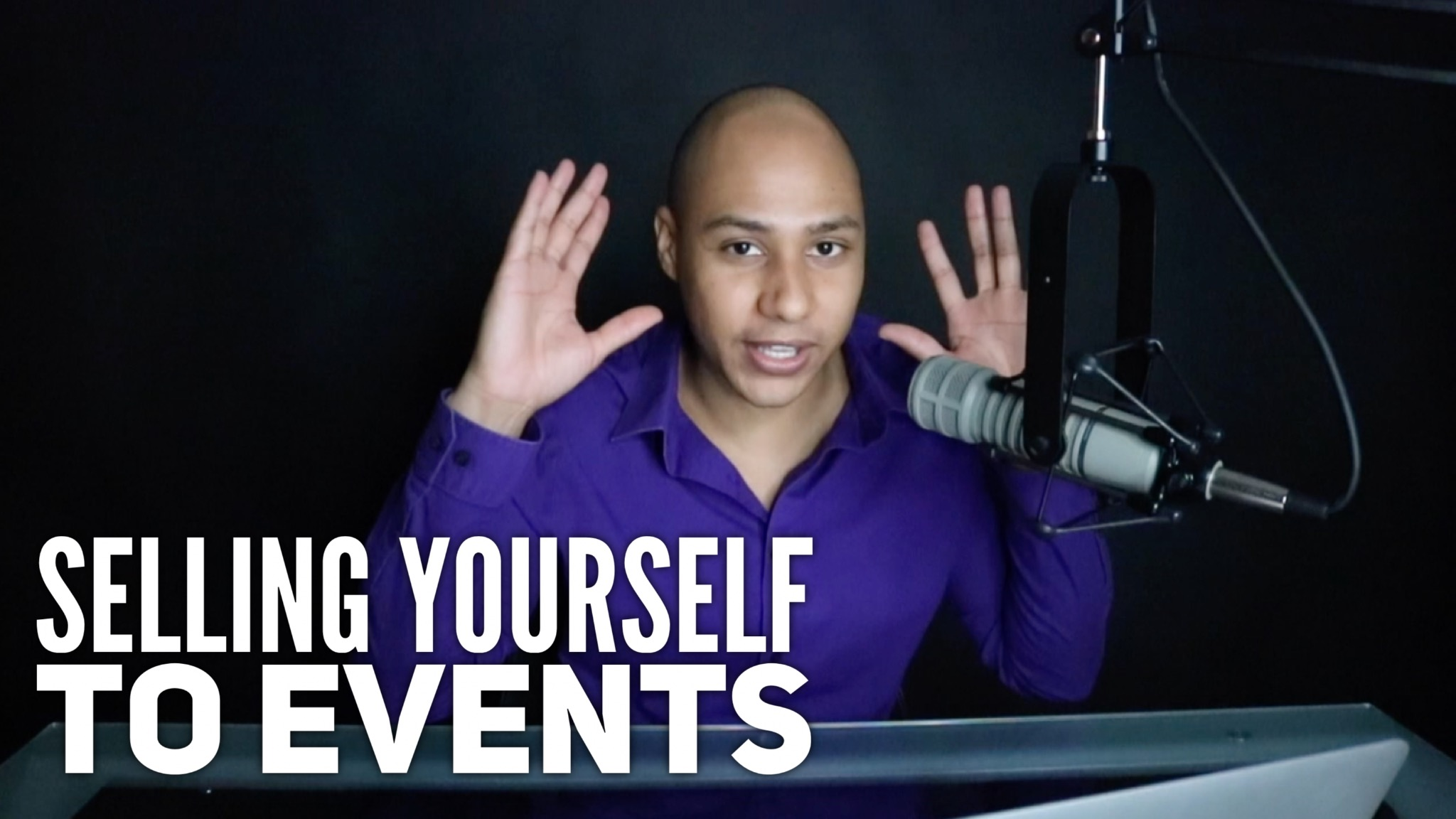 How to sell yourself to events to get hired to speak
