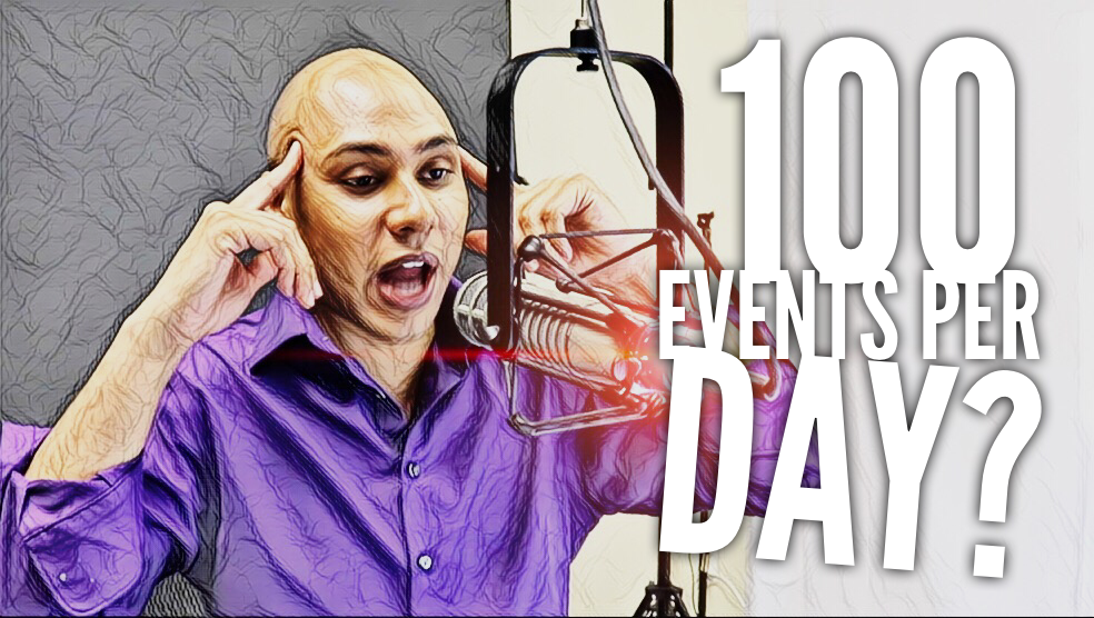 The Truth About Finding & Contacting 100 Events Per Day