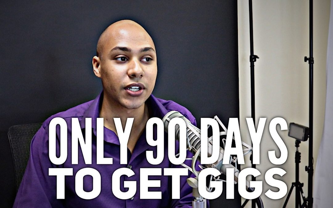 What you should do in the first 90 days to get speaking gigs