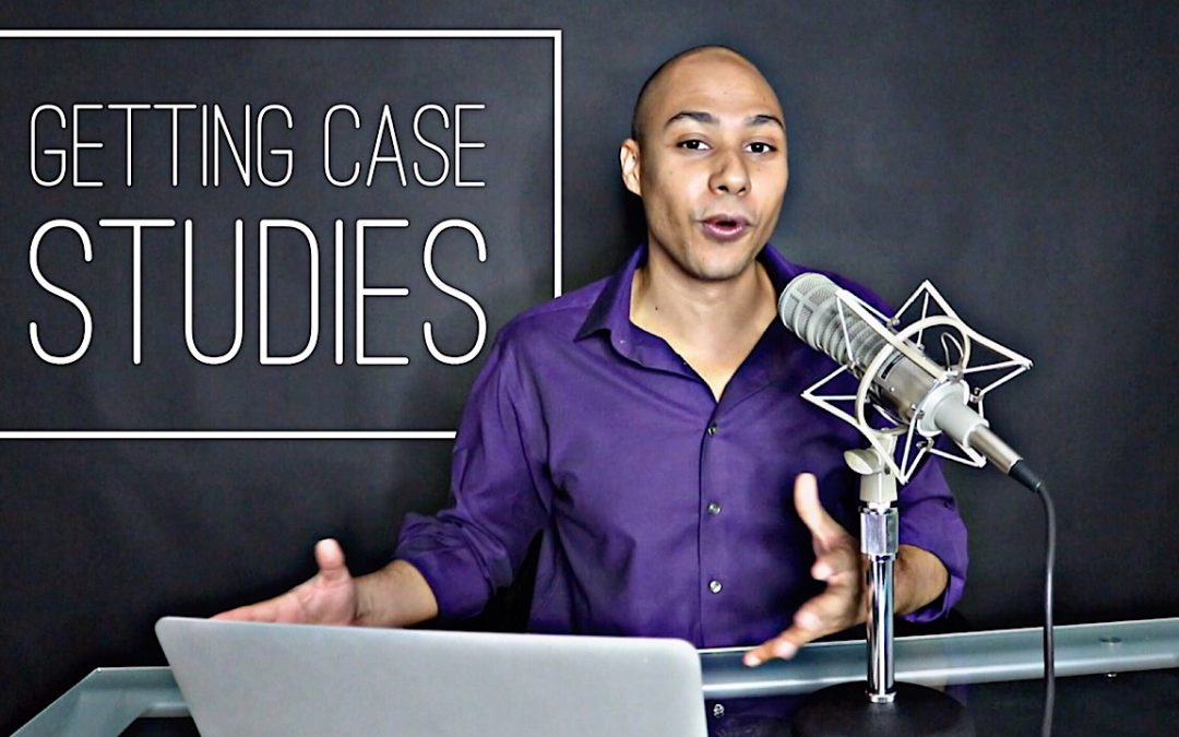Getting your first client case study