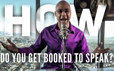How do you get booked to speak?
