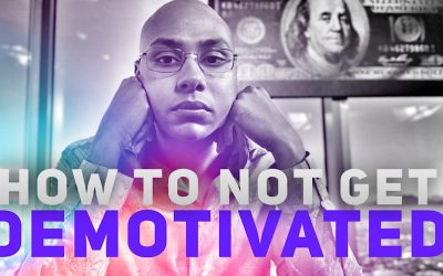 How to not get demotivated while building your business – Avoiding Burnout & Staying motivated