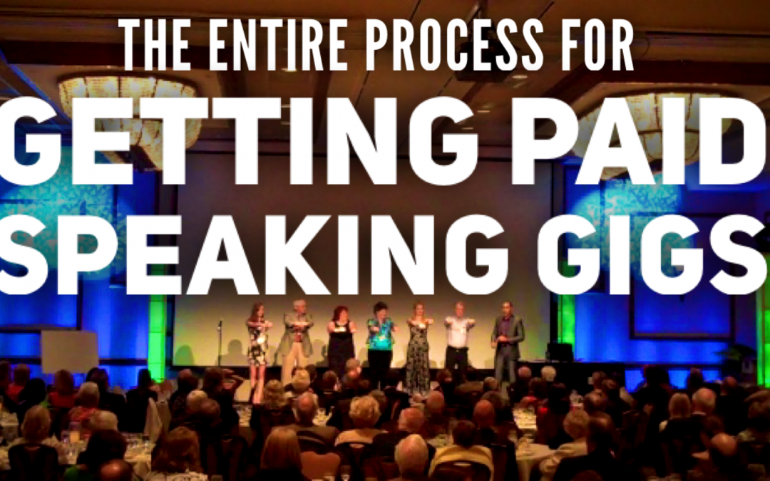 The Step By Step Process For Getting Paid Speaking Gigs